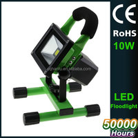 camping lamp flood 6000K rechargeable 10W portable reflector led for outdoor