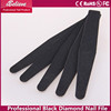 Factory wholesale professional manicure black 7 inch diamond deb nail file