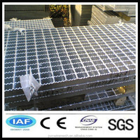 Low carbon Pvc coated Steel grating for construction