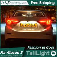 AKD Car Styling Tall Lamp for Mazda 3 DRL 2015 New Mazda 3 Axela LED DRL 2014-2016 LED Tail Light Good Quality LED Fog lamp