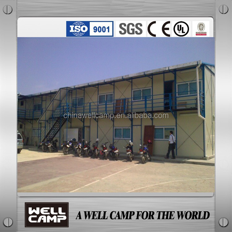 Mobile Prefabricated Steel Frame House/ Steel Building For Office