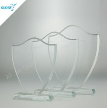 Wholesale Art Blank Clear Glass Award for Souvenir