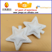Hot sale hanging christmas star/plastic star shapes for decoration