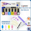 #40213J CANNI gel polish popular color manicure set ,CANNI small personalized gel polish nails manicure set