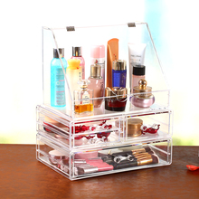 Acrylic makeup cosmetic beauty storage case