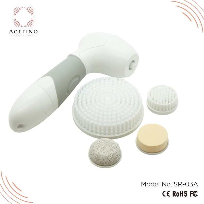 Hot sale battery operated electric rotating facial brush