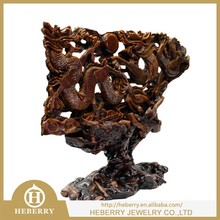 Excellent Quartz Rock crystal tiger figurine with high quality factory outlet