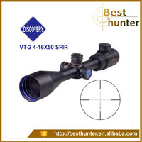 Discovery 4-16x50SFIR Rifle Scope with Side Parallax Adjustment and Red & Green Illuminated Ballistic Reticle hunting scopes