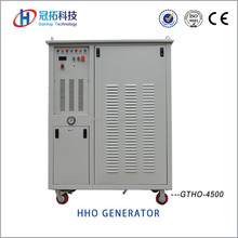 High efficiency HHO gas generator hydrogen fuel cell for fuel saving