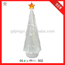 2014 new style indoor LED Christmas tree with glitter