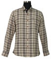 Summer men's style plaid shirt high quality long-sleeved equestrian apparel and multi-style Polo shirts customization