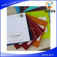 high gloss laminate sheet pvc factory