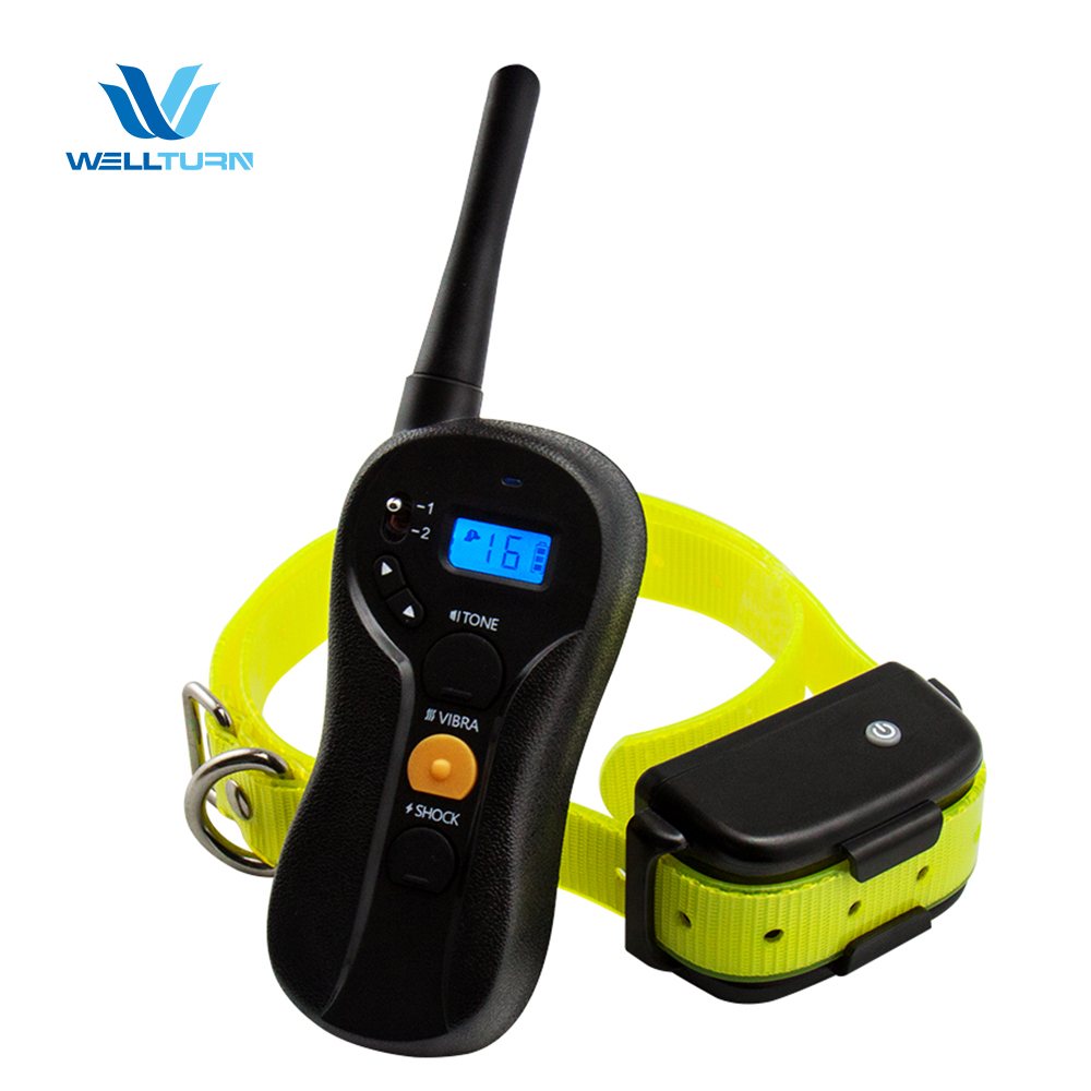 Pet Training Electronic Dog Shock Collar Dog Stop No Bark Shock Collar Waterproof Bark Dog Training Products for Human