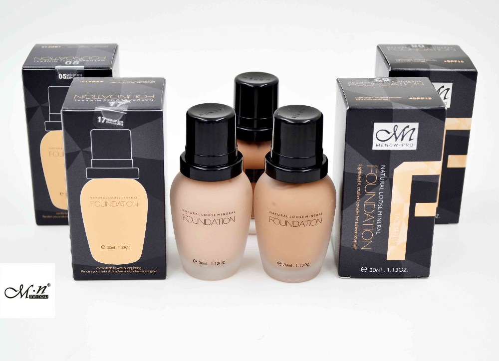 Menow Makeup Cosmetic Use Waterproof Foundation