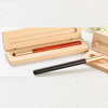 Fashion Wood Roller Pen With Wood