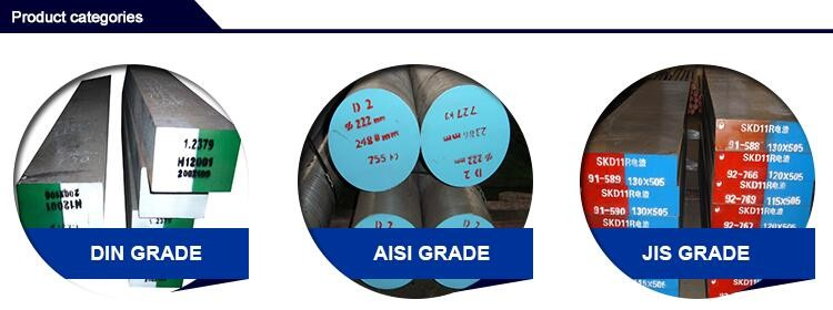 JIS SKD11 DIN 1.2379 ASTM D2 cold work die steel flat bar