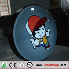 Good price vacuum formed outdoor lighted <strong>sign</strong> boxes from shanghai Bobang