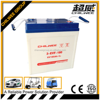 6V180AH sealed lead acid(SLA) rechargeable battery for electric bus