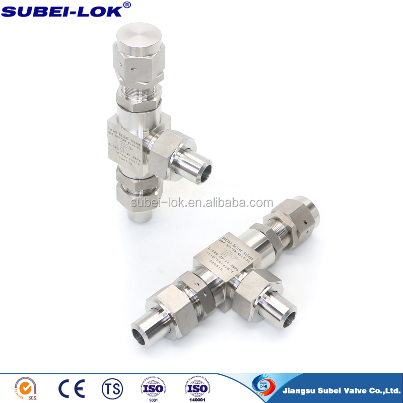 "1/4"" SS316 NPT Safety Relief Valve Proportional Safety Relief Valve China supplier"
