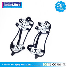 More Stretchable Tpe Ice Grips Safe Non-Slip Shoes With Stainless Steel Claws Under Cold Weather