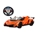 1:16 rc soprt car with steering wheel