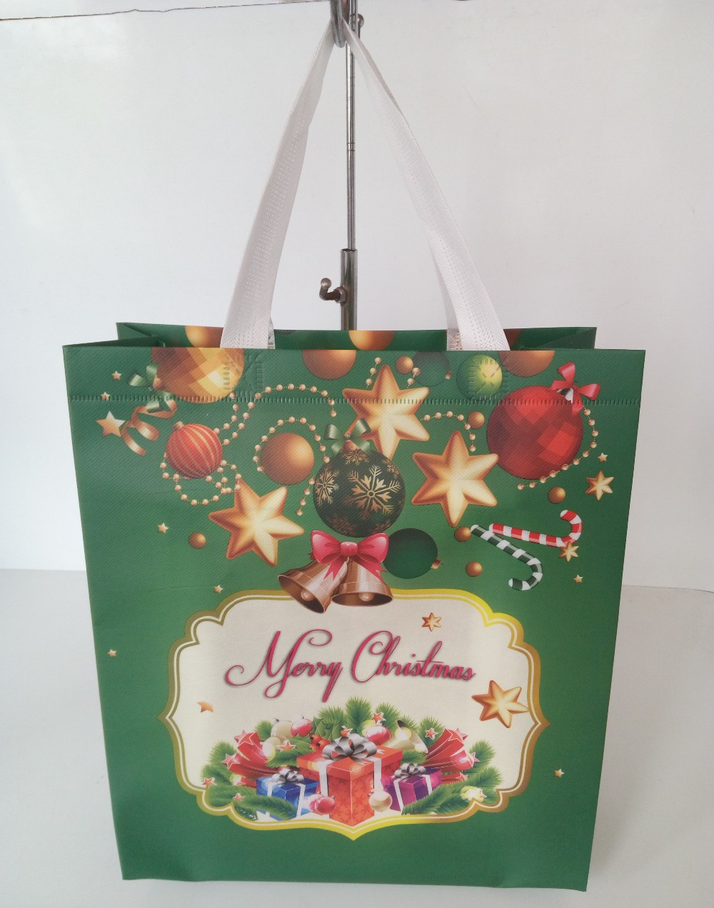 Hot selling custom Christmas shopping bag gift <strong>promotion</strong>