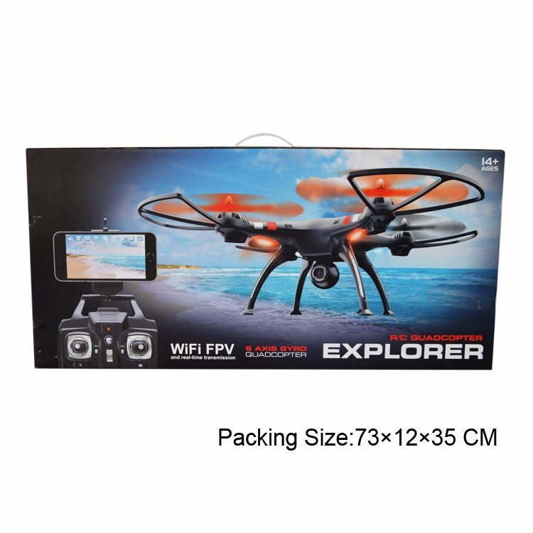 4Ch Wifi racing fpv camera drone with hd camera