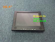 "industrial control embedded 10.4"" capacitive multi touch screen display, dvi vga usb input, standard vesa mounting"