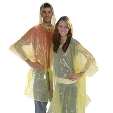 wholesale cheap promotional adult lady eva rain poncho disposable with logo