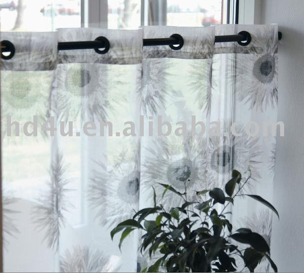 fabric eyelet curtain