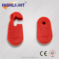 Highlight High quality SL001 Red 4mm/4.5mm/5mm/5.7mm/6mm/7mm/8mm Security Stop lock/Anti-theft Peg hook/display rack lock