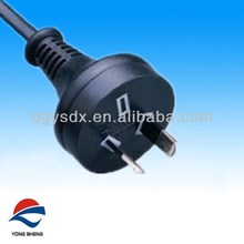 power cord & 2pins Australia plug with 0.75mm2 cable