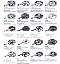 high quality best price bicycle single speed chainwheel and crank with fashion design