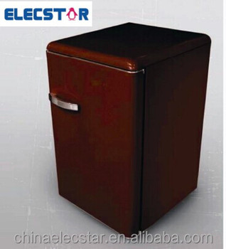 tabletop refrigerator,retro fridge,home appliance,household refrigeration.solid door upright fridge