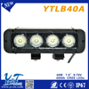 "New Product Automobile off road 12 volt 7.8"" 40W Curved off road led light bar auto tuning light"