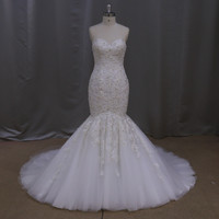 luxury french thread silver beaded lace bulk wholesale kids clothing wedding gowns