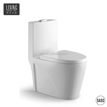 Asia feature style china sanitary ware super high class one piece cyclone siphonic flushing ceramic japanese toilet