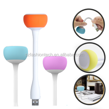 Bendable mini Bluetooth Speaker cute mushroom Portable wireless speaker music player