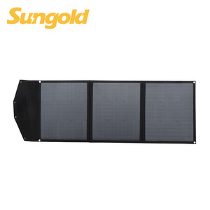 Portable folding solar panel cell phone charger for laptop