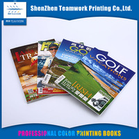 Professional Custom Glossy Coloring magazine printing wholesale