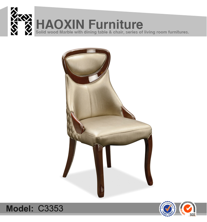 wooden new design high quantity dining chair C3353