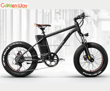 2018 newest cheap model 20 inch fat tire electric bicycle snow e bike mountain e bike with lithium battery