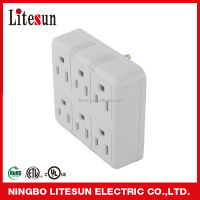 YY 6ZA UL CUL 6 outlets Adapter