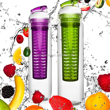 Drinking More Water 27oz. Sport Tritan Fruit Infuser Water Bottle
