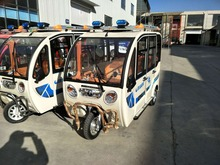 Popular sightseeing electric Passenger vehicles new energy electric tricycles