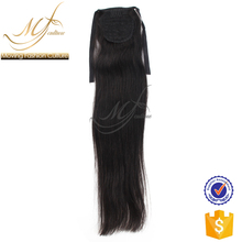 2018 new arrival hor selling style kids ponytail straight hair extension