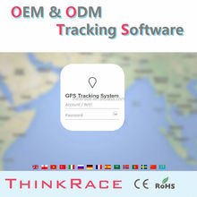 Global car alarm mobile tracking software for pc /gps tracking system by Thinkrace