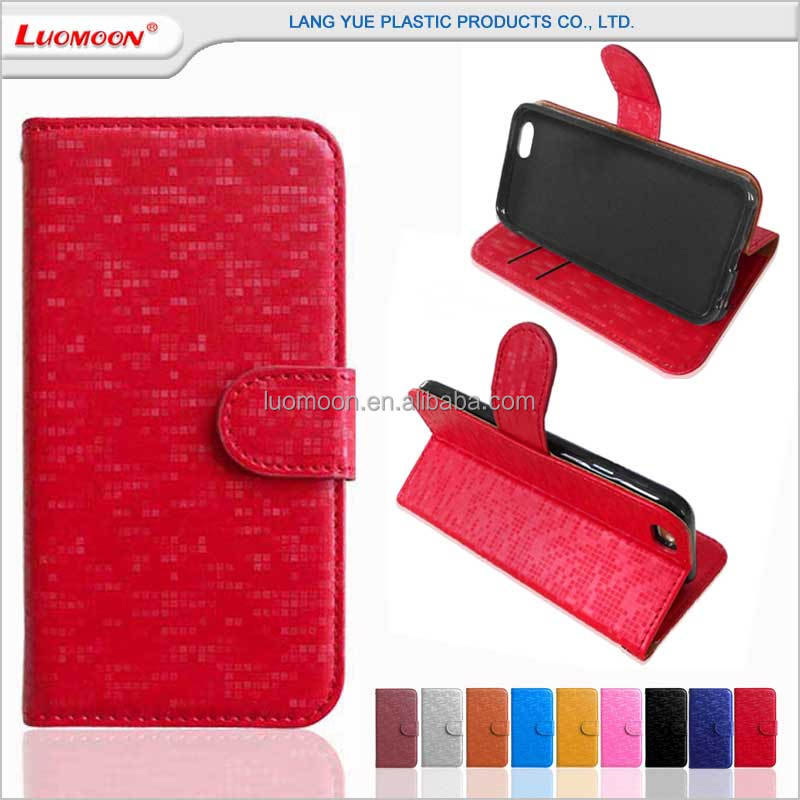 Fold cell phone wallet flip pu leather cover case for iphone 3gs 4 4s 5 5s 5c 6 6s 7 7s plus se