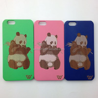 New arrival wood phone accessories protective mobile phone for i phone 6