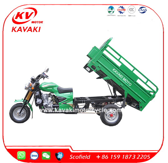 Customized Three Wheel Motorcycle 3 Wheel Motorcycle Cargo Tricycle